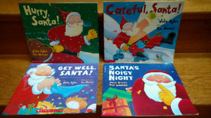 "4 Julie Sykes & Tim Warnes ""Santa series"" picture books"