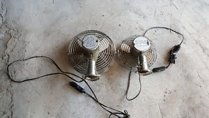 stainless steel 12 volt fans 5.00 each