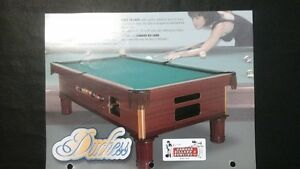 THE  DUTCHES   COIN  OPERATED  POOL TABLES - SHUFFLEBOARDS