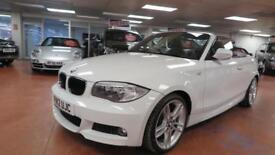 2012 BMW 1 SERIES 118i M SPORT [Start Stop] 6 Speed Sport Leather Seats AUX PDC