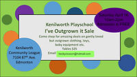 Kenilworth Playschool's I've Outgrown it Sale!