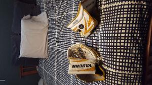 Intermediate Vaughn V5 7260 Blocker and Glove Goalie Gear