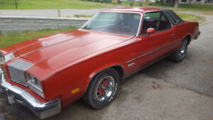 1977 olds cutlass collector plated