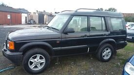 Land Rover Discovery 4.0 V8 (lpg) Auto.. 02 Plate..