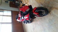 Rare cr1125r Buell with the Rotax