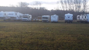 trailer storage and parking, RV and Boats etc...