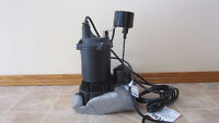 Myers 1/3 H.P. Submersible Sump Pump.