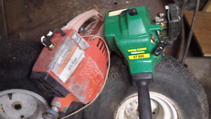 Two Gas Trimmers for parts $20
