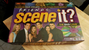 Friends Scene It DVD Game in mint condition