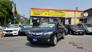 2014 ACURA RDX TECHNOLOGY PKG AWD SUV BLK ON BLK WITH 99 KM