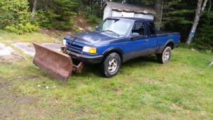 Ford ranger 4x4 with plow trade for 4x4 atv with plow