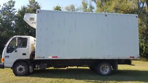 *** GMC / ISUZU HD 5500 TURBO DIESEL DELIVERY MOVING TRUCK ***
