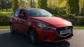 2015 Mazda 2 1.5 75 SE 5dr Manual Petrol Hatchback