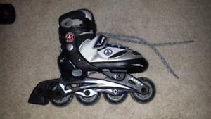 patin à roues alignées pour enfants (10 à 13)