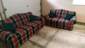 Sofa Set Love Seat and Couch