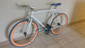 Mint condition light weight fixed gear road bike