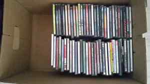 Box of CD's - Approximately 60