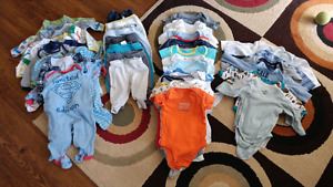 0-3 & 3months baby boy clothes