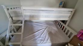 Wooden Triple bunk bed frame