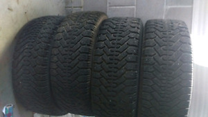 Winter tires with rim
