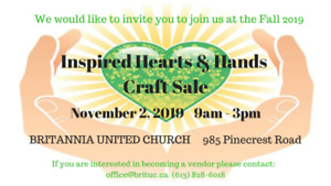 Inspired Hearts & Hands Craft Show