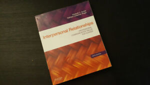 Arnold & Boggs Interpersonal Relationships RRC textbook - $20