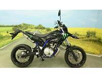 Yamaha WR125X 2013**MONSTER GRAPHICS KIT, ARROW EXHAUST, DIGITAL DISPLAY**