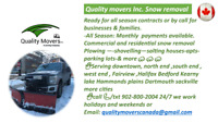 Snowremoval@affordable prices (1time,seasoncontracts, payments)