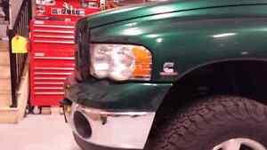 2003 Dodge Ram headlights and  3rd brake
