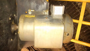 Baldor 5HP Single Phase Electric Motor 230V