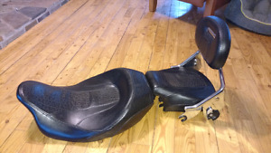 Leather touring seat CVO Harley Touring Seat