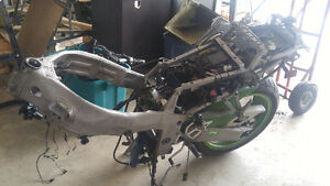 1994 zx7 frame and swingarm