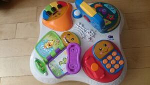 Table musical Fisher Price Laugh and learn fun with friends