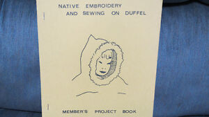 native embroidery and sewing