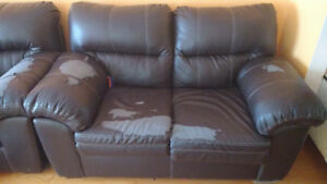 Very comfy sofa and loveseat for $10