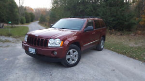 2007 Jeep Grand Cherokee Limited Edition SUV, Crossover