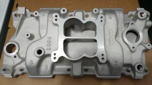 Chevy SBC Weiand Action+Plus  Intake Idle-6000 RPM Range