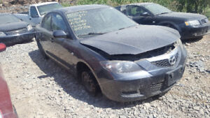 2008 MAZDA3 . JUST IN FOR PARTS AT PIC N SAVE! WELLAND