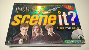 Harry Potter 2nd Edition - Scene It? The DVD Game