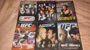 For sale, my ufc movies collection, all for 25 dollars.
