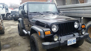 2004 Jeep Wrangler SUV, Crossover Extended Cab