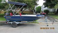Chaloupe Nordic 14', 30 hp, full equipe