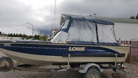 19 foot Lowe Roughneck for sale