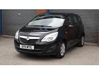 2011 Vauxhall/Opel Meriva 1.4 16v ( 100ps ) S Manual Petrol MPV in Black