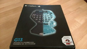 Logitech G13 Gameboard. Never been used!
