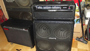 "Crate GT-1200-H with 4X10"" cab"