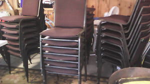 Bar table's  and assortment of chairs