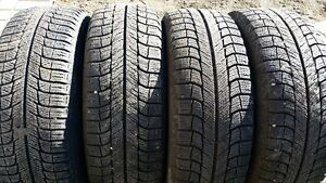4-205/65x15 Michelin winter tires on 5x108 Sable/Taurus