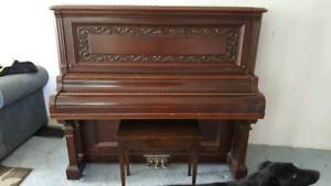 Antique 1890-1900's Upright Piano