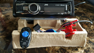 JVC Car Stereo Deck with Remote